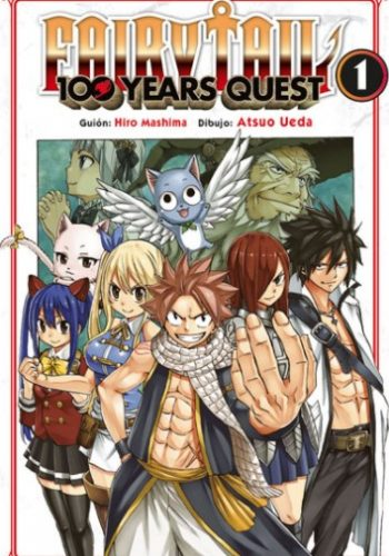 Fairy Tail 100 Years Quest Manga